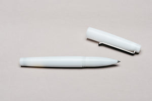 White Rollerball Pen by Tactile Turn