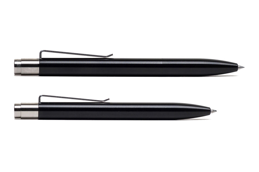 Black Anodized Aluminum Click Pen
