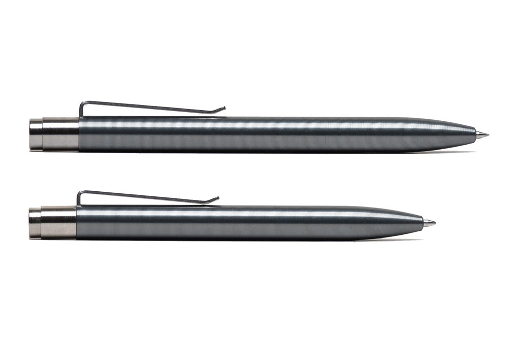 Gray Anodized Aluminum Click Pen