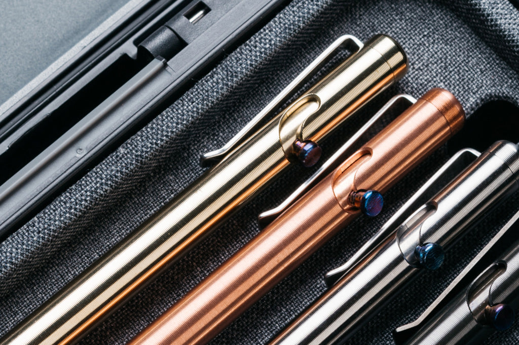 Tactile Turn Bolt Action Pens