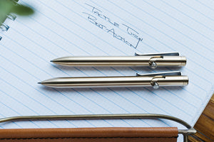 Bronze Bolt Action and Bolt Action Short Pens