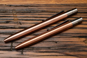 Copper Click Pens by Tactile Turn