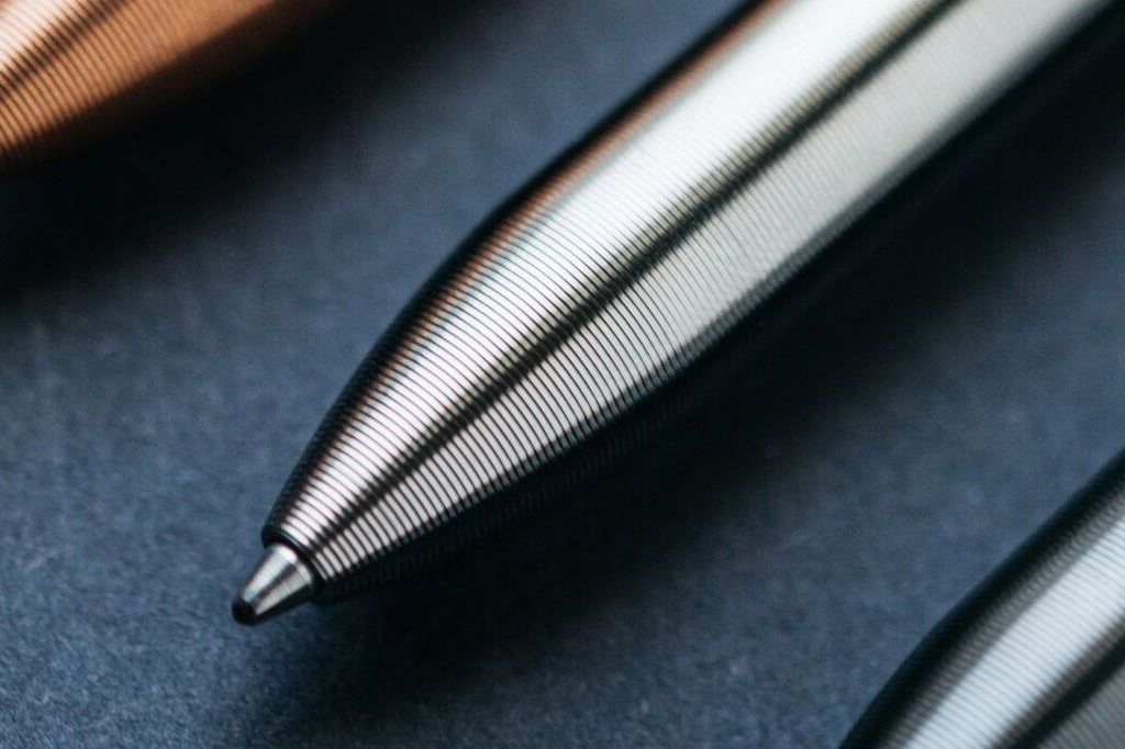 Precision-Machined Pens by Tactile Turn