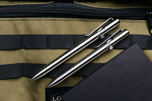 Titanium Bolt Action Pens by Tactile Turn