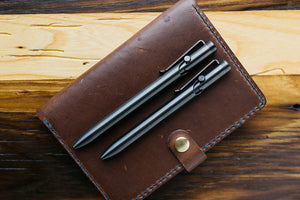 Zirconium Bolt Action Pens by Tactile Turn