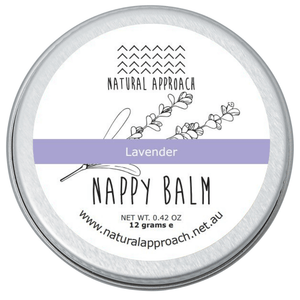 Natural Lavender Nappy Balm - 12g