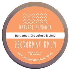Natural deodorant starter pack - MINI TRIO #1