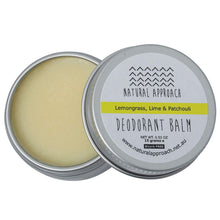 Load image into Gallery viewer, 15g - Bicarb FREE - Lemongrass, Lime & Patchouli - Natural Deodorant