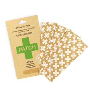 *NEW* PATCH Aloe Vera Bandages - 'On-The-Go' 4 pack