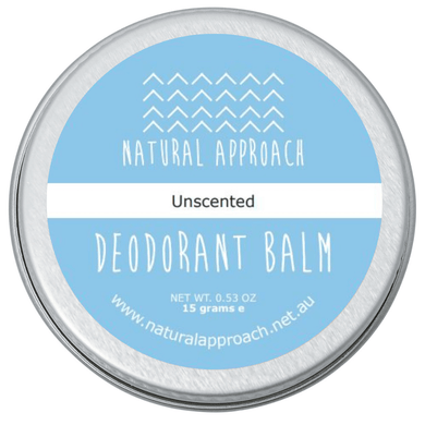 15g - Unscented - Natural Deodorant