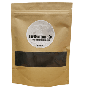 Sweet Coconut Charcoal Face Mask 200g