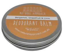 Load image into Gallery viewer, 50g - Bergamot, Grapefruit & Lime - Natural Deodorant