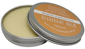50g - Bergamot, Grapefruit & Lime - Natural Deodorant