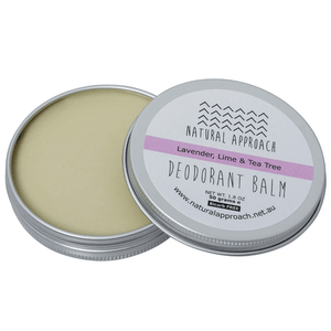 50g - Bicarb FREE - Lavender, Lime & Tea Tree - Natural Deodorant