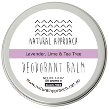 Load image into Gallery viewer, 50g - Bicarb FREE - Lavender, Lime & Tea Tree - Natural Deodorant