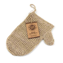 Load image into Gallery viewer, Handmade Eco Max Hemp Exfoliating Mitt
