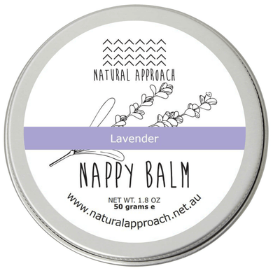 Natural Lavender Nappy Balm - 50g