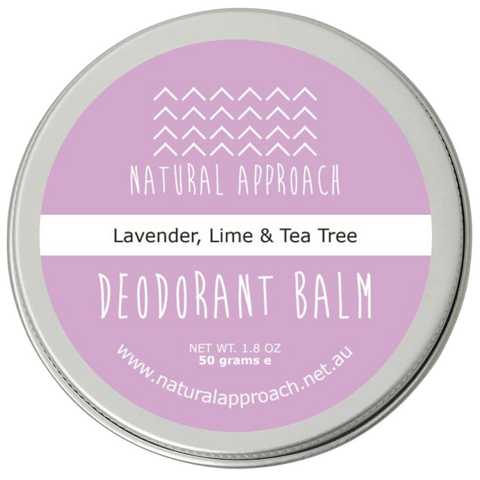 50g - Lavender, Lime & Tea Tree - Natural Deodorant