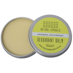 50g - Lemongrass, Lime & Patchouli - Natural Deodorant