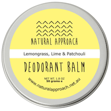 Load image into Gallery viewer, 50g - Lemongrass, Lime & Patchouli - Natural Deodorant