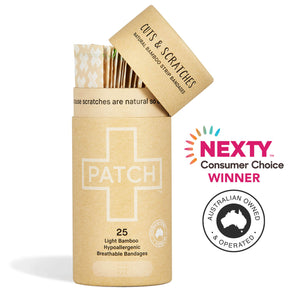 *NEW* PATCH Natural/Light Bandages - Tube of 25