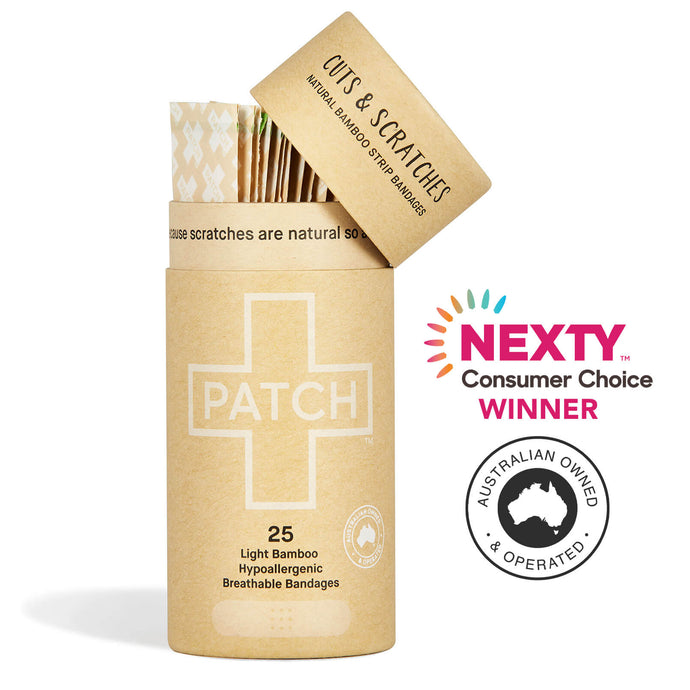 PATCH Natural/Light Bandages - Tube of 25