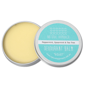 50g - Peppermint, Spearmint & Tea Tree - Natural Deodorant