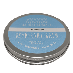 50g - Unscented - Natural Deodorant
