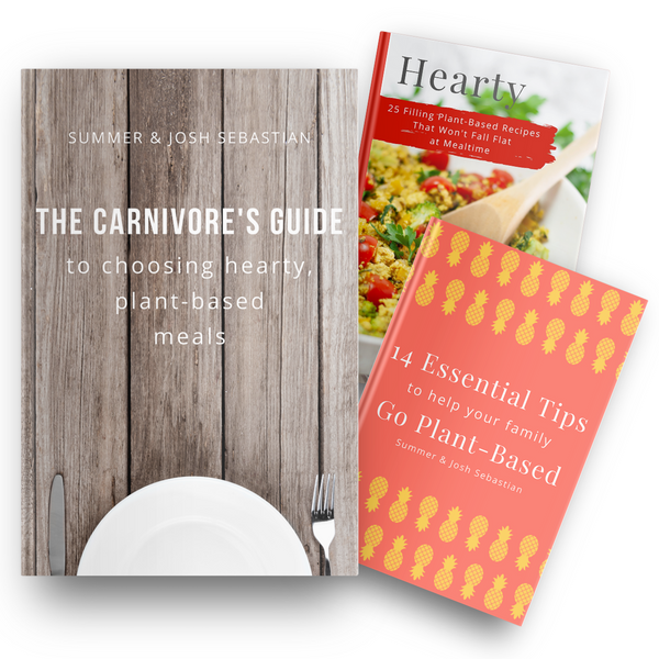 The Carnivore's Guide to Choosing Hearty, Plant-Based Meals {3-book Bundle}