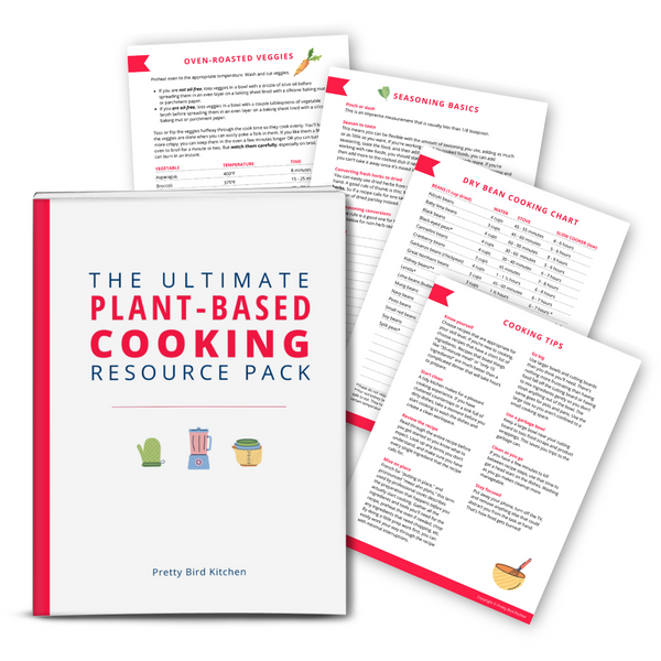 Plant-Based Cooking Resource Pack {24-page Bundle}