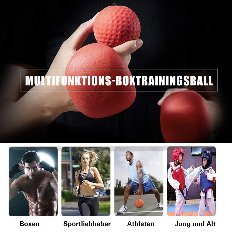 Dekompression Ball ,Boxtraining & Reaktionsfähigkeit Training - poponuss