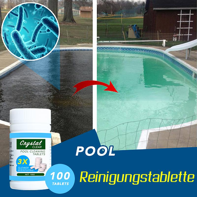 Poolreinigungstablette (100 Tabletten) - poponuss