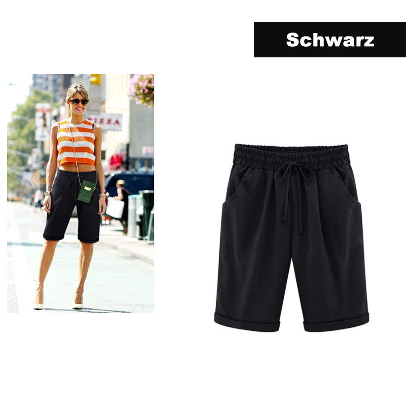 Frauen locker Shorts - poponuss