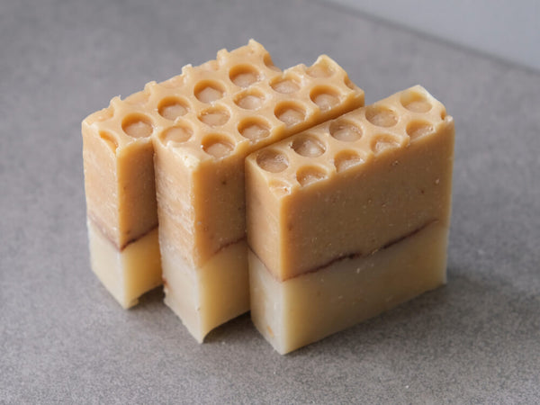 Natural Honey and Oatmeal Soap