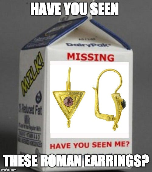 have you seen these roman earrings?