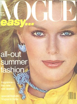vogue magazine cover may 1978. image: conde nast