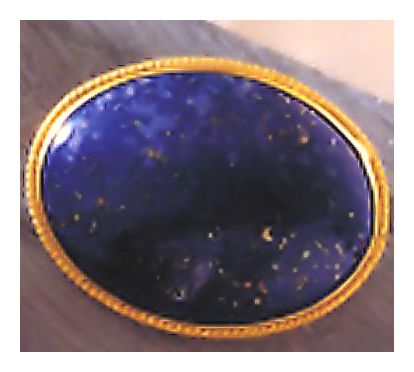 Hampshire Lapis Pin