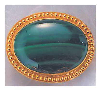 Eyre-Malachite Pin