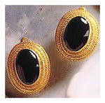 Prince Albert Onyx Earrings