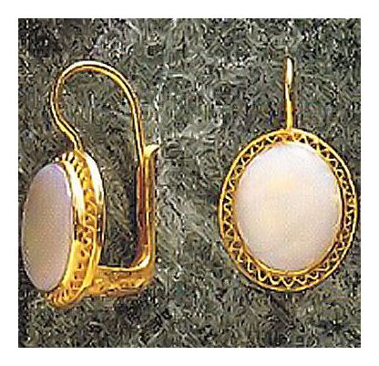Somerset Opal Earrings