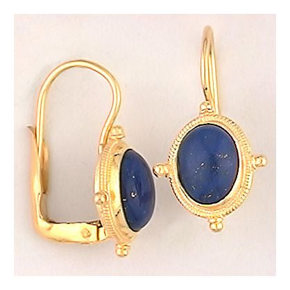 Midlothian Lapis Stone Earrings