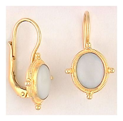 Ode-To-Opal Victorian Jewelry Design Earrings Gold Over Silver Jewelry Design