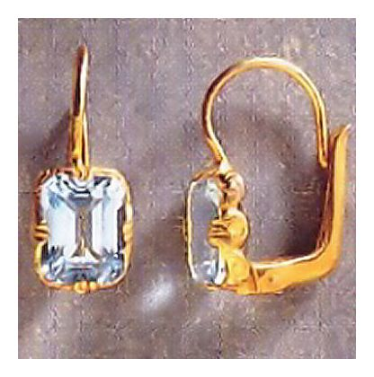 Devon Topaz Earrings