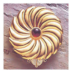 Asante-Sunburst Pin