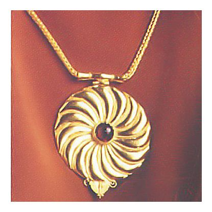Asante-Sunburst Necklace