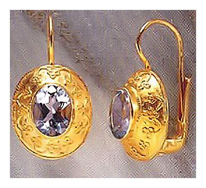 Mogul Topaz Earrings