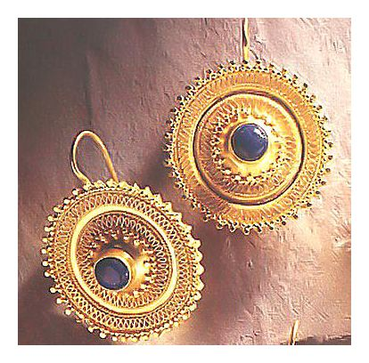 Afghani-Lapis Earrings