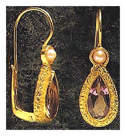 Coventry Amethyst Earrings
