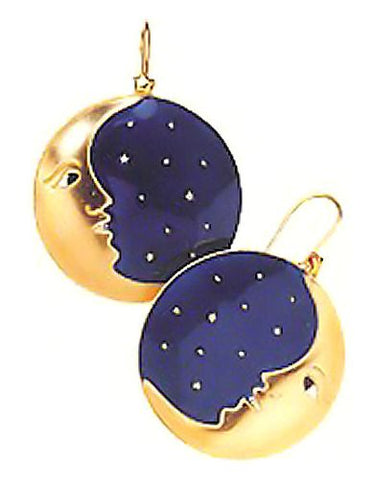 Moonchild Enamel Earrings