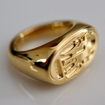 Nefertiti's Ring - Gold-Plated